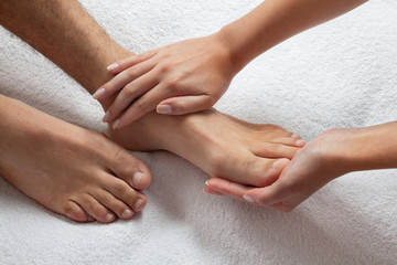 Ручной и ножной массаж