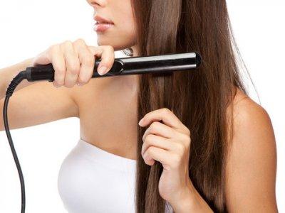 Выпрямляя волосы, имейте в виду что...