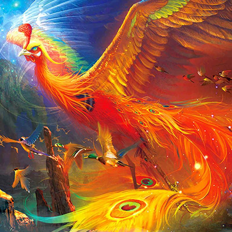 Сказочные картинки птиц