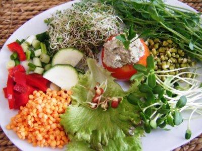 Сыроедение. Потеря витаминов в процессе термообработки пищи.